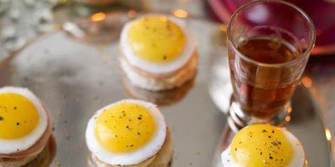 Yellow, Food, Serveware, Ingredient, Finger food, Breakfast, Orange, Egg yolk, Recipe, Dish,