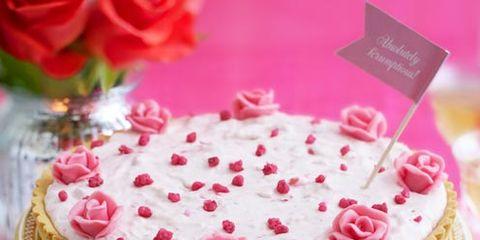 Cuisine, Sweetness, Food, Ingredient, Dessert, Pink, Baked goods, Dish, Cake, Recipe,