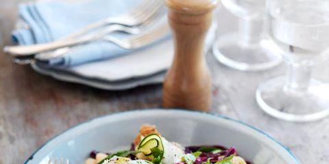 Food, Salad, Cuisine, Dishware, Tableware, Serveware, Vegetable, Produce, Ingredient, Kitchen utensil,