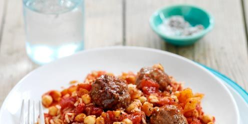 Lamb And Chicken Meatballs