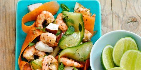 Food, Produce, Vegetable, Dishware, Tableware, Salad, Ingredient, Plate, Food group, Recipe,
