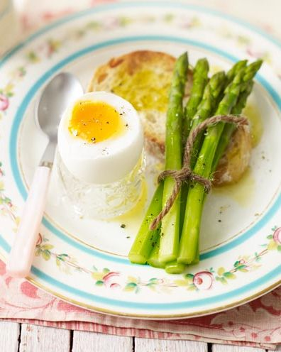 best egg recipes duck eggs with asparagus