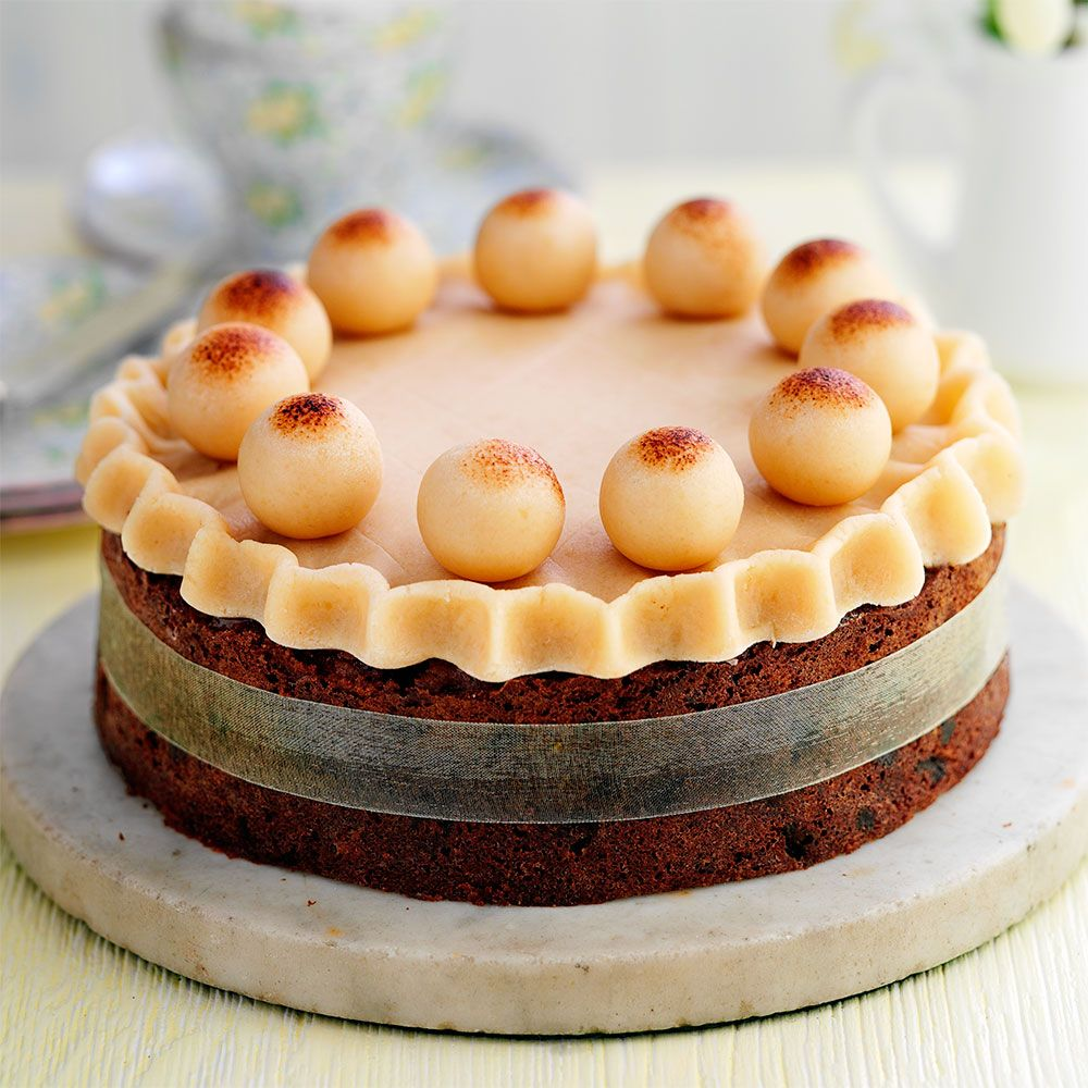 Traditional Easter Simnel Cake