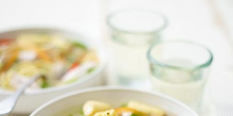 Healing Chicken and Ginger Broth