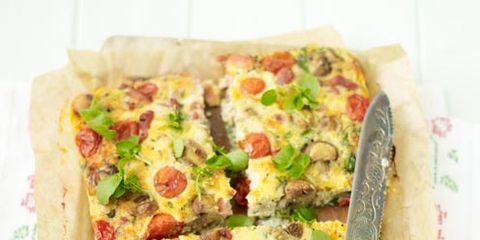Food, Cuisine, Ingredient, Finger food, Dish, Vegetable, Recipe, Pizza, Baked goods, Leaf vegetable,