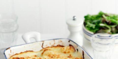 Food, Serveware, Ingredient, Dish, Recipe, Cuisine, Lasagne, Casserole, Herb, Gratin,