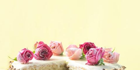 Food, Cuisine, Sweetness, Cake, Dessert, Baked goods, Pink, Ingredient, Dish, Recipe,