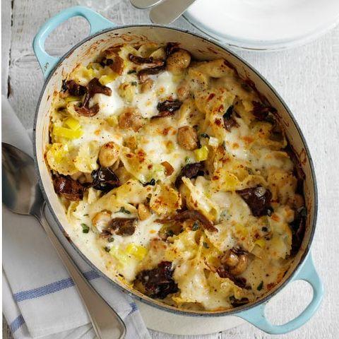 pasta bake recipes leek and mushroom pasta bake