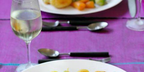 Food, Dishware, Tableware, Glass, Cuisine, Stemware, Drinkware, Serveware, Ingredient, Dish,