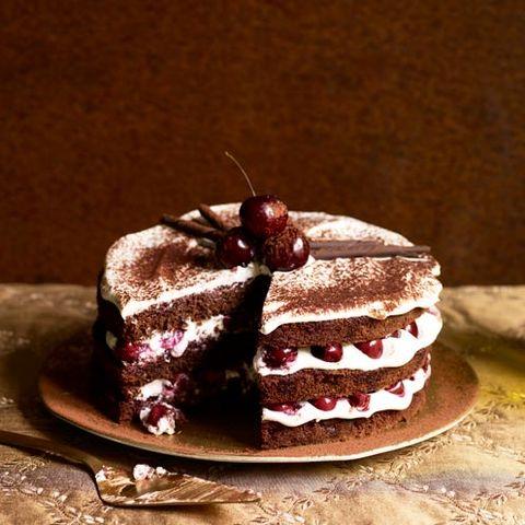 black forest gateau cake recipe