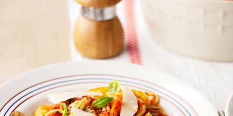 Serveware, Cuisine, Food, Dishware, Pasta, Tableware, Ingredient, Noodle, Recipe, Dish,