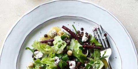 Food, Dishware, Salad, Leaf vegetable, Cuisine, Vegetable, Tableware, Serveware, Dish, Produce,
