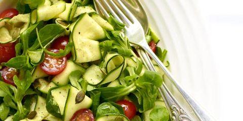 Food, Salad, Vegetable, Ingredient, Leaf vegetable, Produce, Tomato, Dishware, Vegan nutrition, Kitchen utensil,
