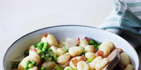 best gnocchi recipes gnocchi with parma ham, peas and mint
