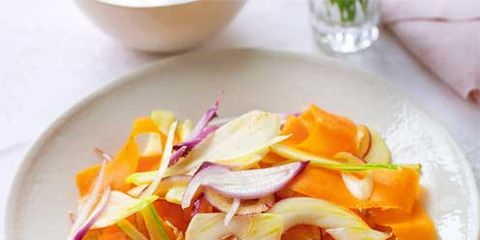 Food, Dishware, Serveware, Ingredient, Cuisine, Tableware, Orange, Plate, Garnish, Recipe,