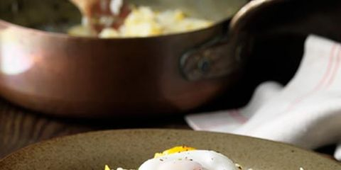 Dish, Food, Cuisine, Ingredient, Produce, Egg salad, Staple food, Poached egg, Recipe, Risotto,
