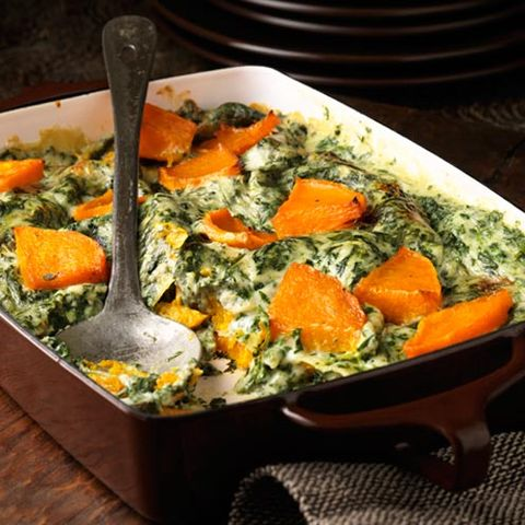 Butternut Squash, Spinach and Sage Lasagne