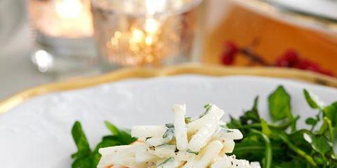 Food, Dishware, Ingredient, Cuisine, Serveware, Tableware, Leaf vegetable, Plate, Garnish, Fines herbes,