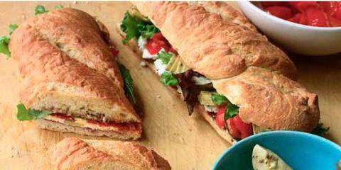 Food, Finger food, Baked goods, Ingredient, Cuisine, Breakfast, Sandwich, Dishware, Dish, Meal,