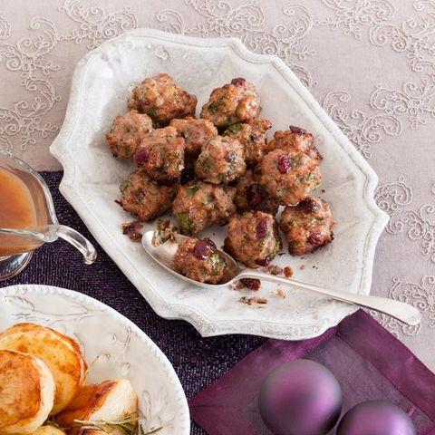 best stuffing recipes cranberry stuffing balls