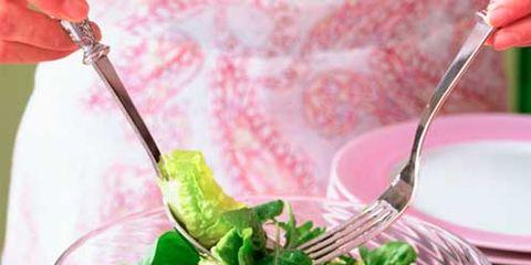 Food, Dishware, Ingredient, Tableware, Produce, Kitchen utensil, Vegetable, Serveware, Leaf vegetable, Cutlery,