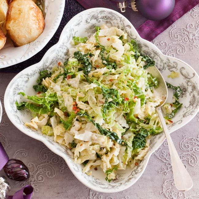 Creamy Savoy Cabbage Cabbage Recipe