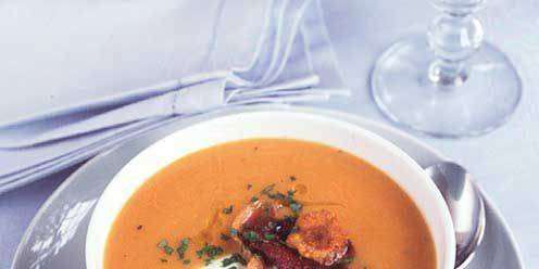 Sweet Potato And Leek Soup
