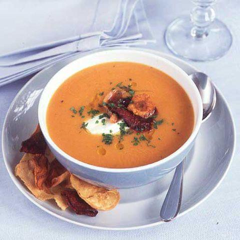 best sweet potato recipes sweet potato and leek soup