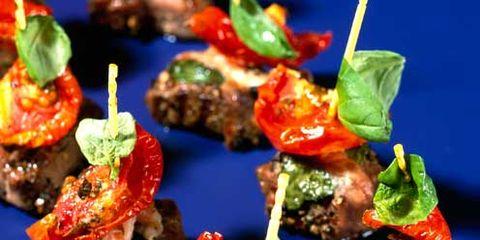 Food, Ingredient, Recipe, appetizer, Finger food, Dish, Garnish, Cuisine, Pincho, Produce,