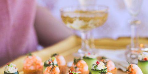 Food, Finger food, Cuisine, Ingredient, Barware, Stemware, Drinkware, Glass, Dish, Drink,