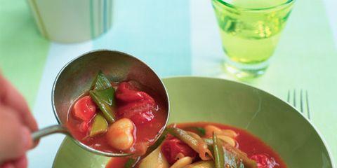 Food, Produce, Ingredient, Bowl, Dish, Tableware, Stew, Spoon, Meal, Serveware,