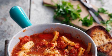 Food, Dish, Stew, Plate, Tableware, Recipe, Serveware, Cuisine, Bread, Ingredient,