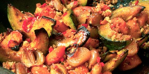 Vegetable tray bake