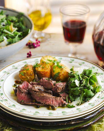 dish, food, cuisine, ingredient, flat iron steak, meat, produce, recipe, venison, salad,