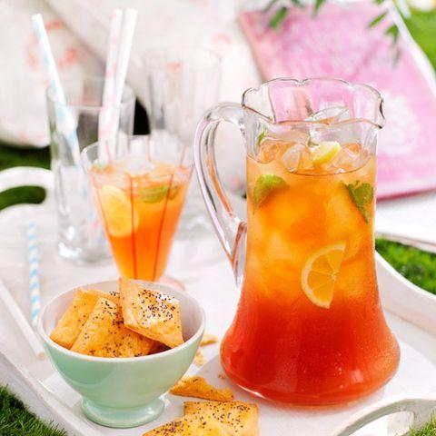 summer cocktail recipes lemon iced tea