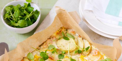 Food, Dishware, Ingredient, Cuisine, Dish, Recipe, Leaf vegetable, Pizza, Vegetable, Tableware,