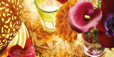 Serveware, Dishware, Petal, Flower, Tableware, Porcelain, Purple, Cuisine, Dish, Meal,