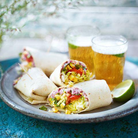 best vegetarian recipes mexican corn wraps