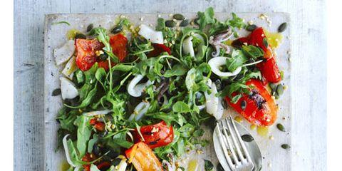 Food, Vegetable, Ingredient, Cuisine, Leaf vegetable, Recipe, Kitchen utensil, Produce, Dishware, Tomato,