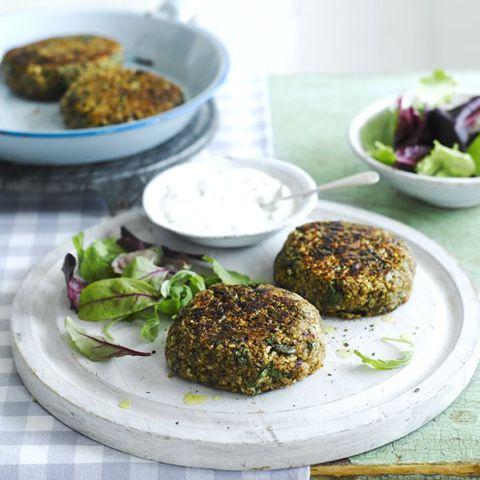 best vegetarian barbecue recipes lentil and quinoa burger
