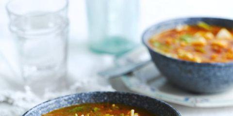Food, Serveware, Stew, Dish, Soup, Recipe, Dishware, Curry, Cuisine, Liquid,
