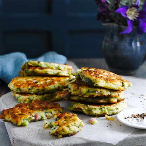 best courgette recipes courgette and bacon fritters