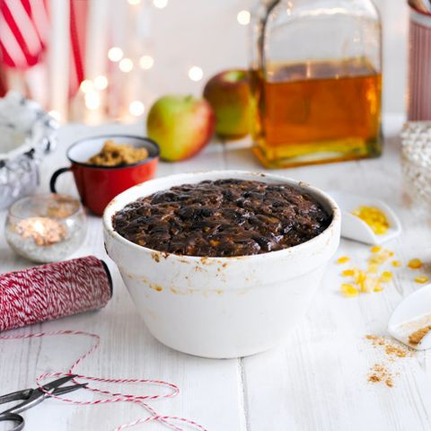 how to steam a christmas pudding