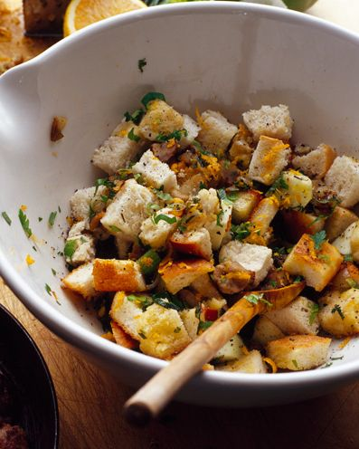 best stuffing recipes chestnut, shallot and orange stuffing