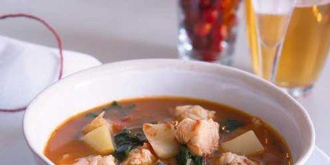 Food, Serveware, Soup, Beer, Cuisine, Dish, Tableware, Ingredient, Stew, Beer glass,