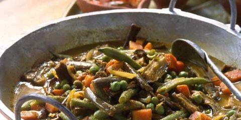 Food, Cuisine, Ingredient, Cookware and bakeware, Vegetable, Dish, Recipe, Tableware, Cooking, Produce,