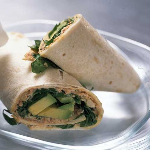 best crab recipes spinach, avocado and crab wraps