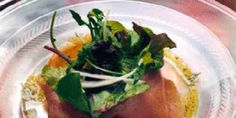Food, Dishware, Serveware, Cuisine, Tableware, Plate, Dish, Garnish, Fish slice, Ingredient,