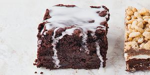 Beetroot and ginger brownies
