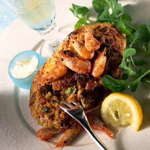 best crab recipes hot devilled crab